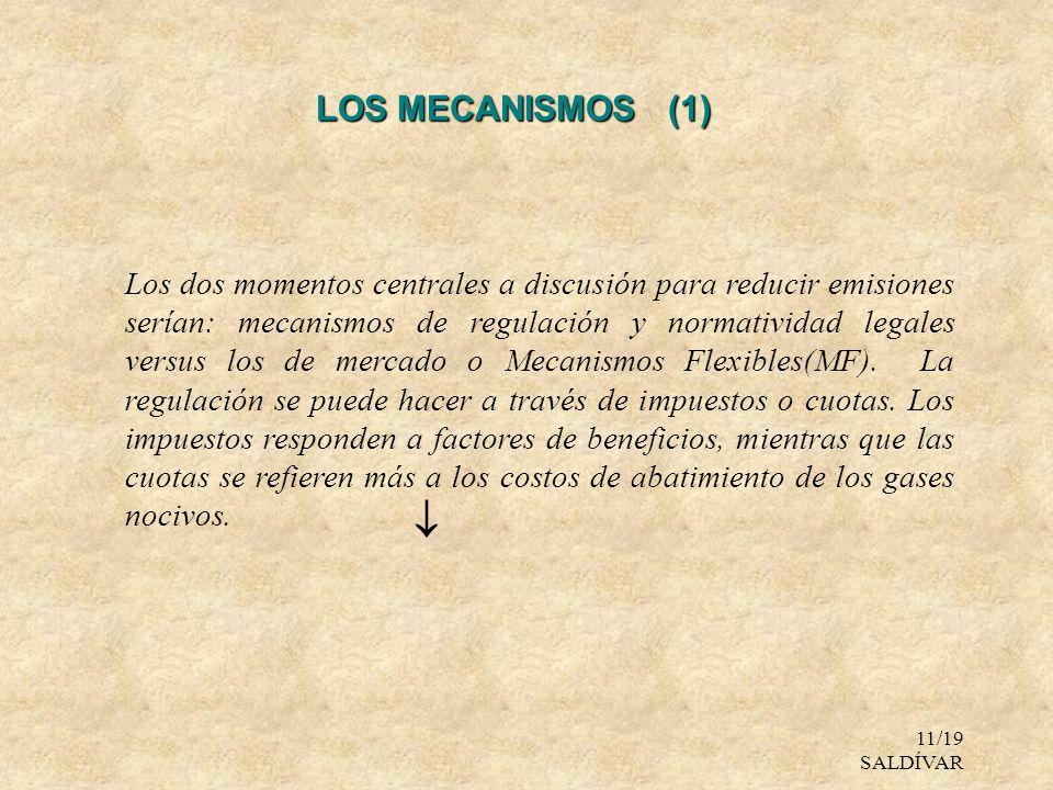 LOS MECANISMOS (1)