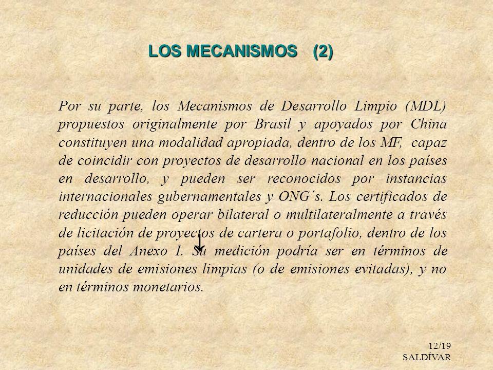 LOS MECANISMOS (2)