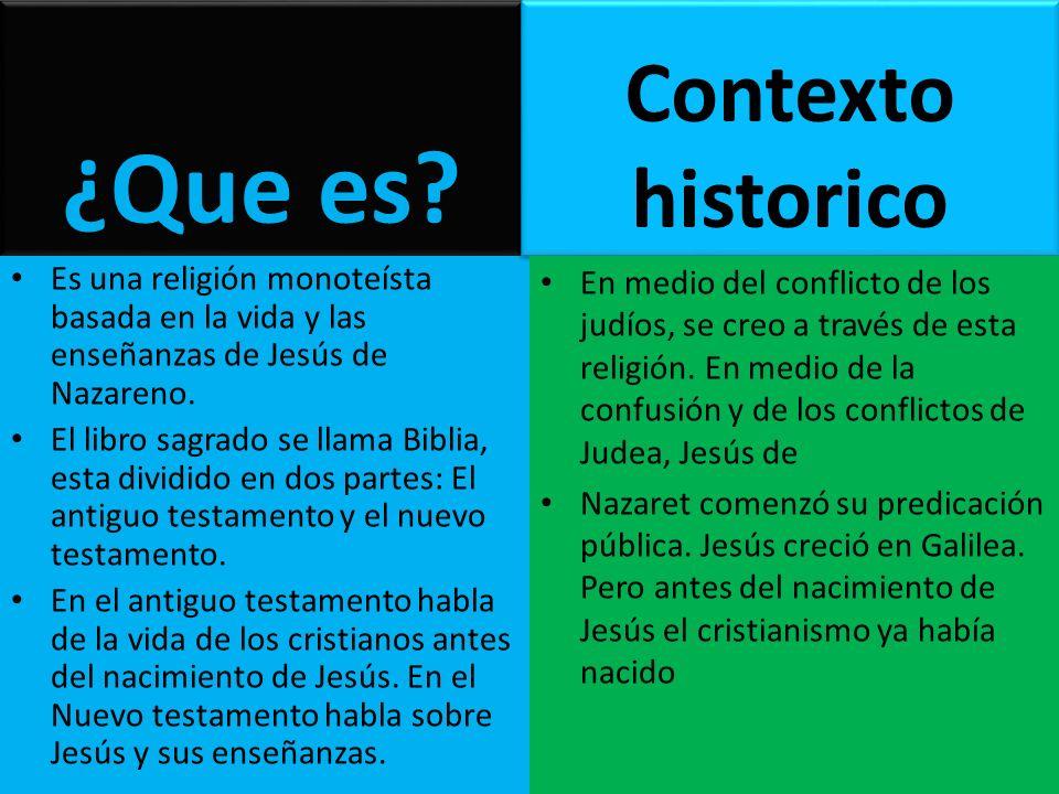 ¿Que es Contexto historico