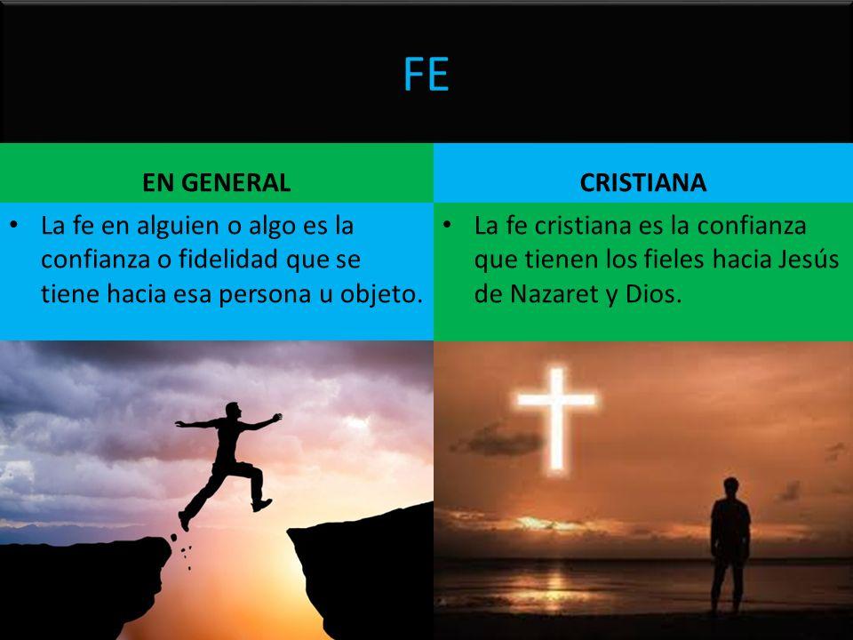 FE EN GENERAL CRISTIANA