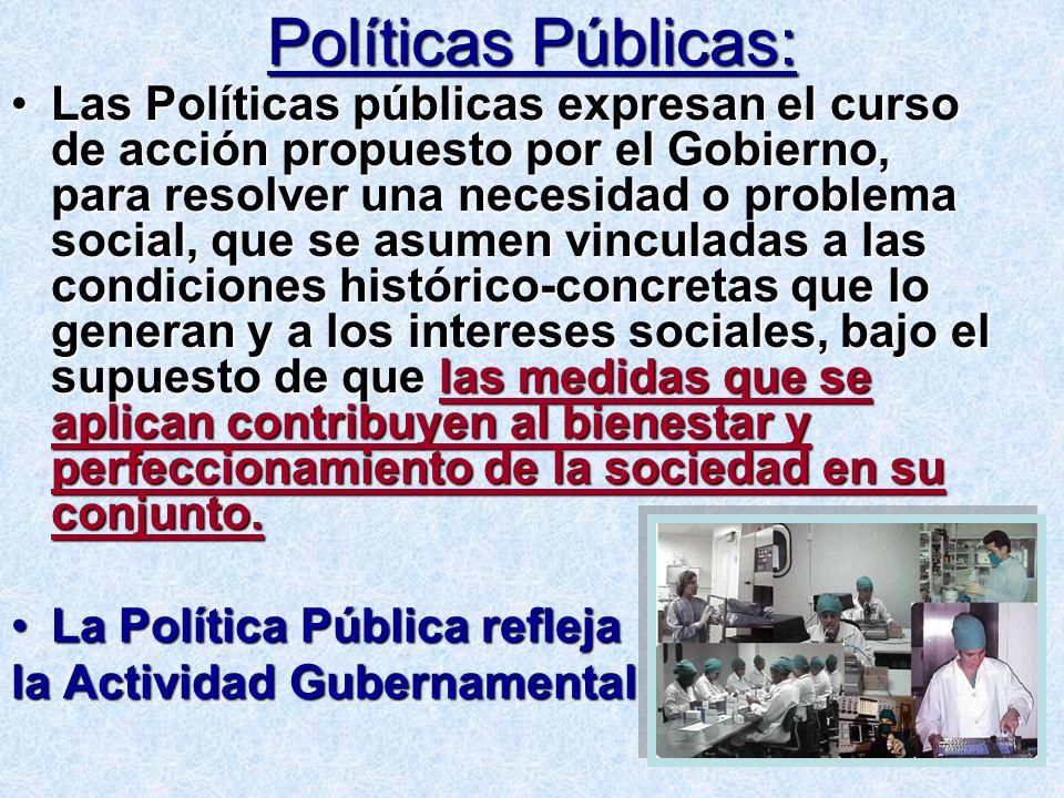 Políticas Públicas:
