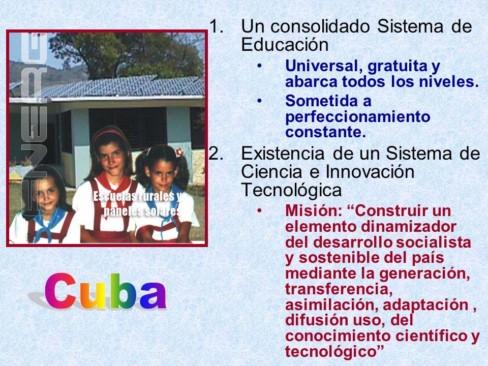 Cuba Un consolidado Sistema de Educación