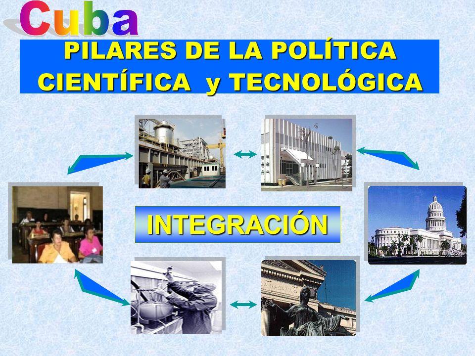 PILARES DE LA POLÍTICA CIENTÍFICA y TECNOLÓGICA