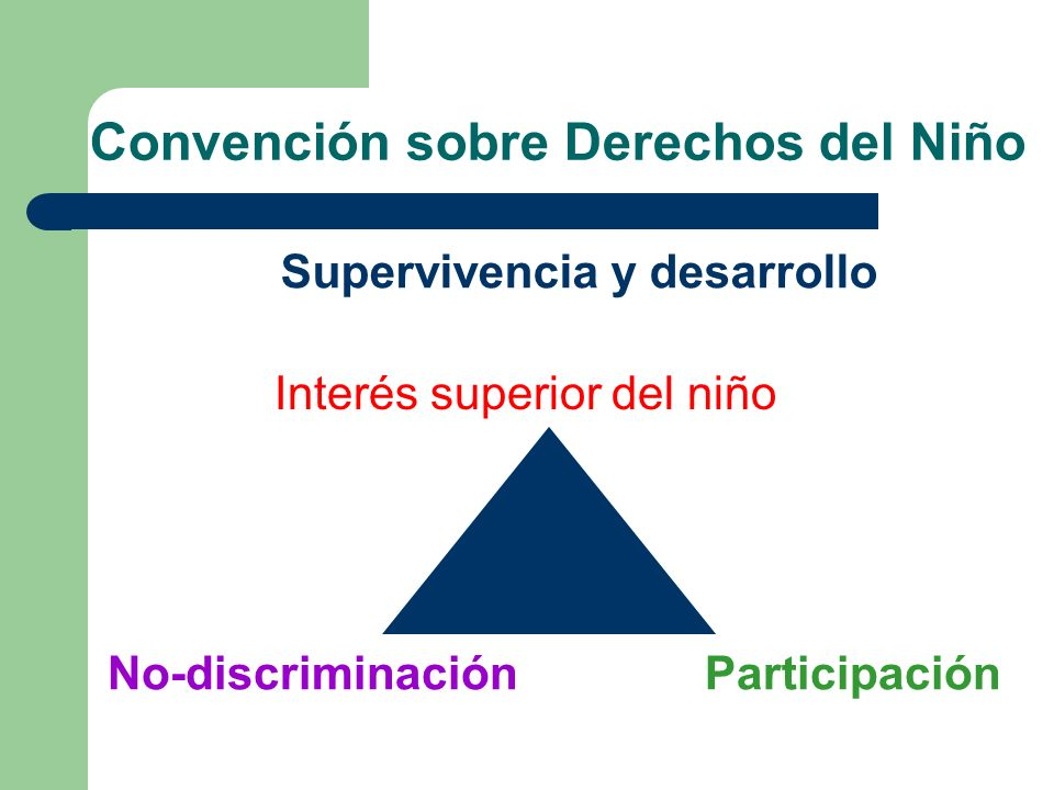 Convención sobre Derechos del Niño