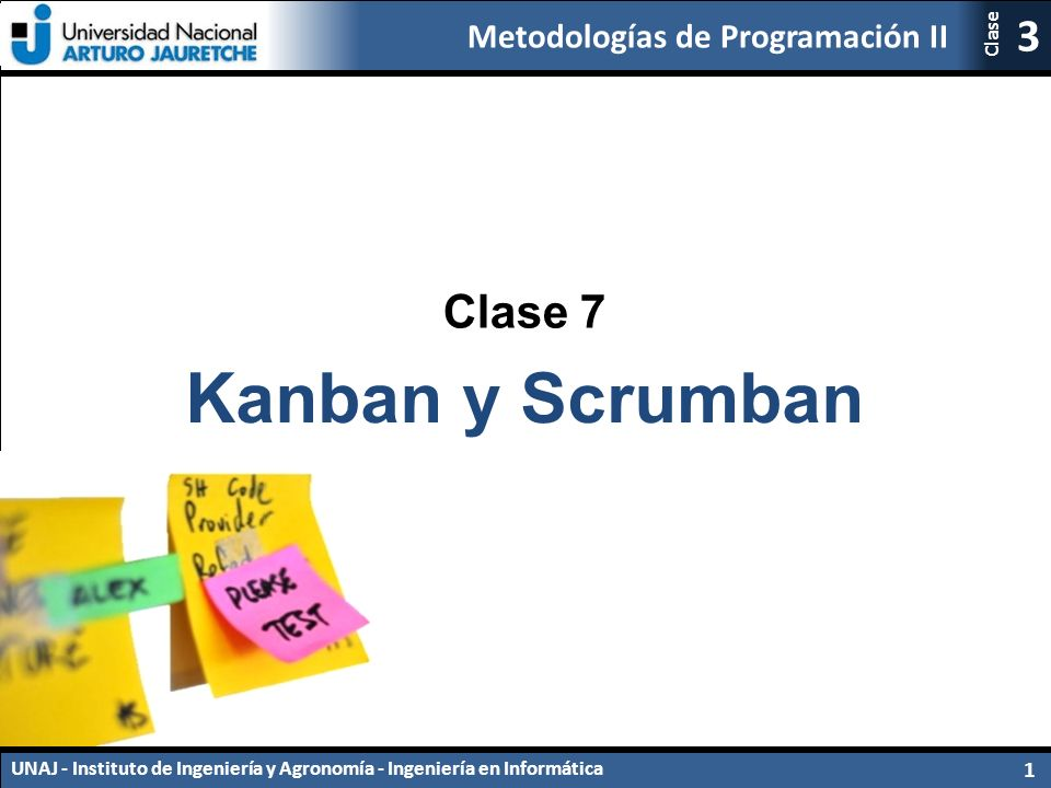 Clase 7 Kanban y Scrumban