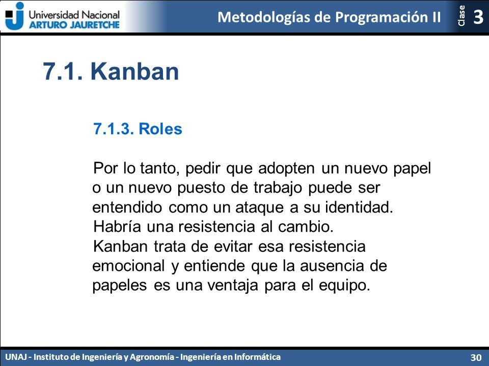 7.1. Kanban 7.1.3. Roles.