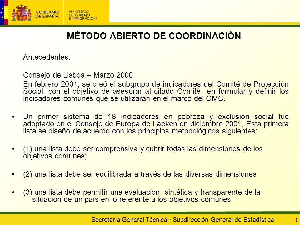 MÉTODO ABIERTO DE COORDINACIÓN