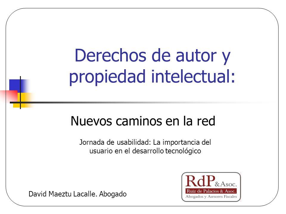 Derechos de autor y propiedad intelectual: