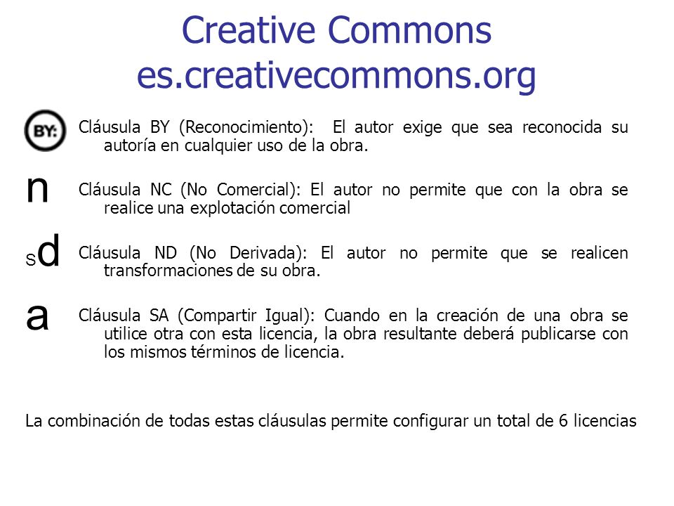 Creative Commons es.creativecommons.org