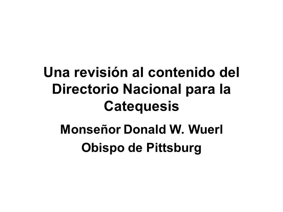 Una revisión al contenido del Directorio Nacional para la Catequesis