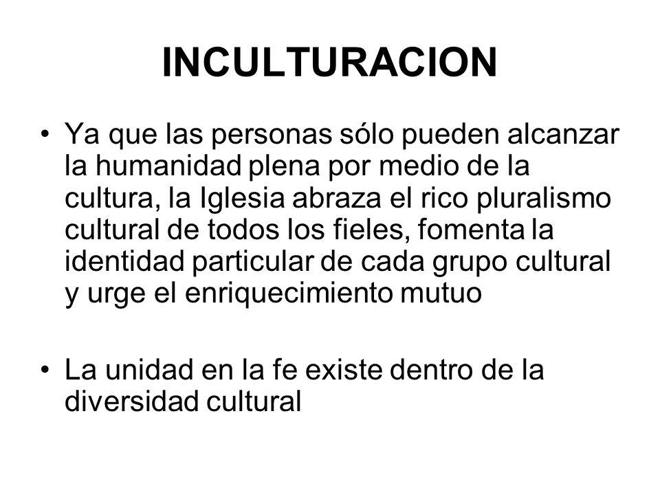 INCULTURACION