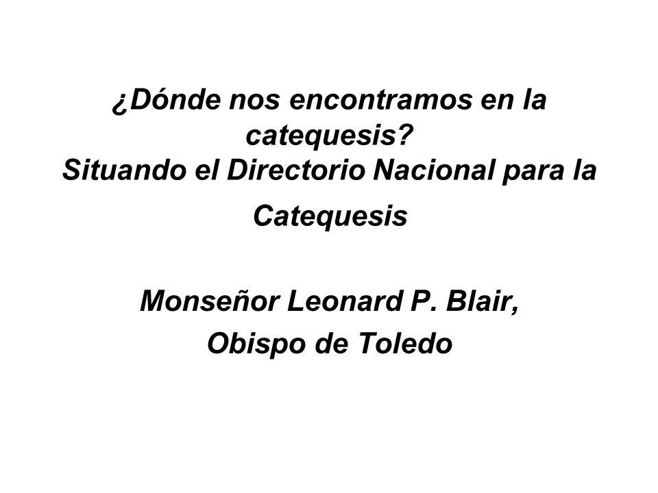 Monseñor Leonard P. Blair, Obispo de Toledo