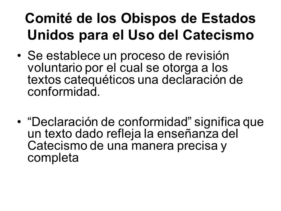 Comité de los Obispos de Estados Unidos para el Uso del Catecismo