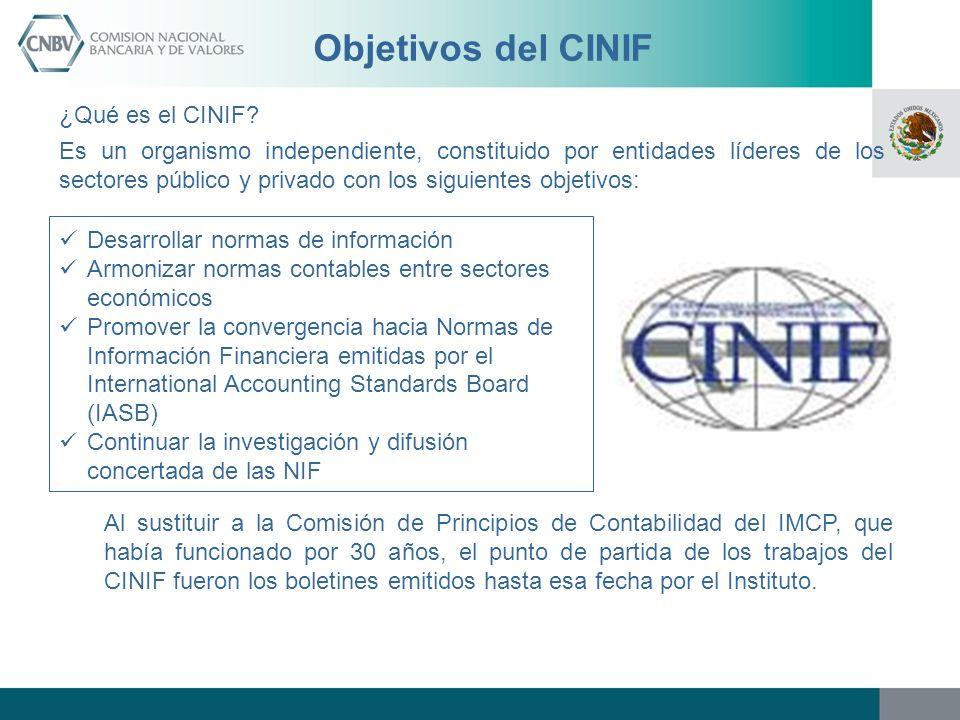 Objetivos del CINIF ¿Qué es el CINIF