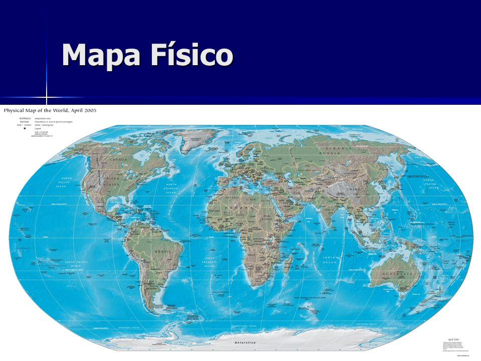 Mapa Físico Mapa físico