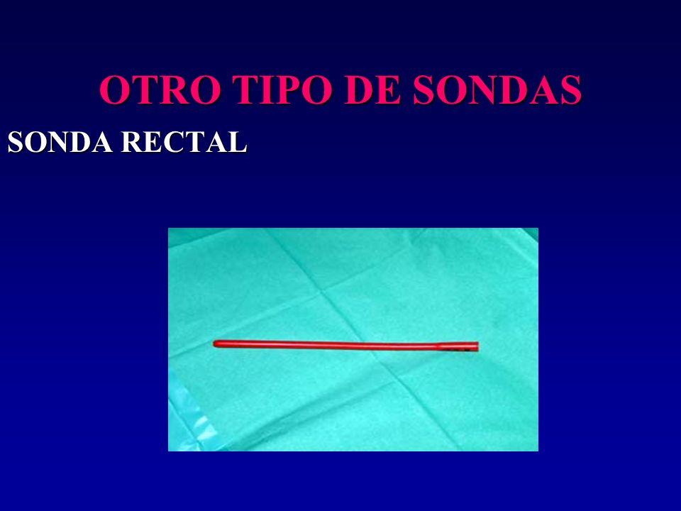 OTRO TIPO DE SONDAS SONDA RECTAL 17