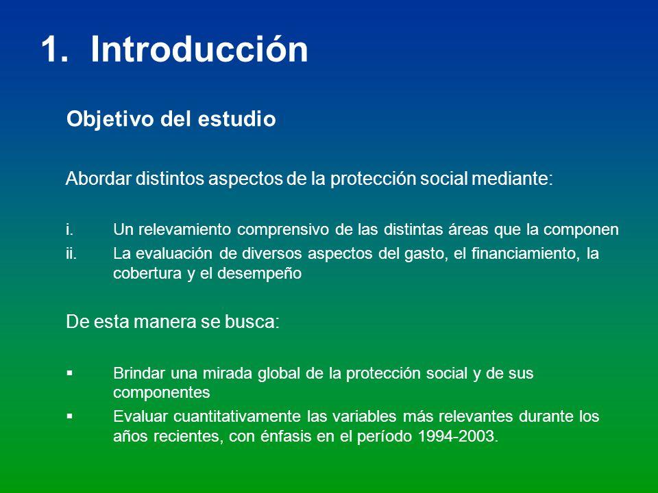 1. Introducción Objetivo del estudio