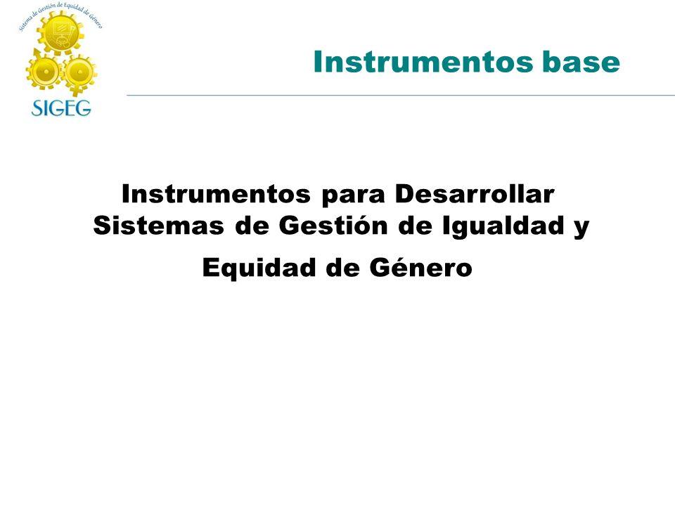 Instrumentos para Desarrollar