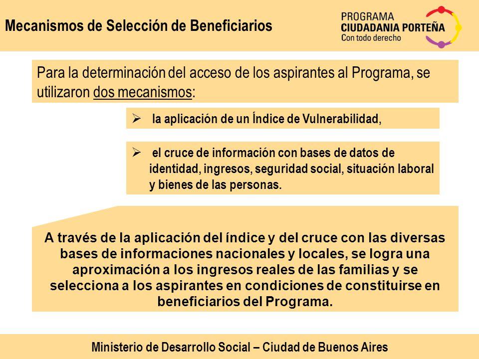 Ministerio de Desarrollo Social – Ciudad de Buenos Aires