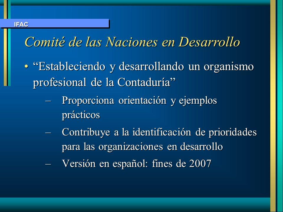 Comité de las Naciones en Desarrollo