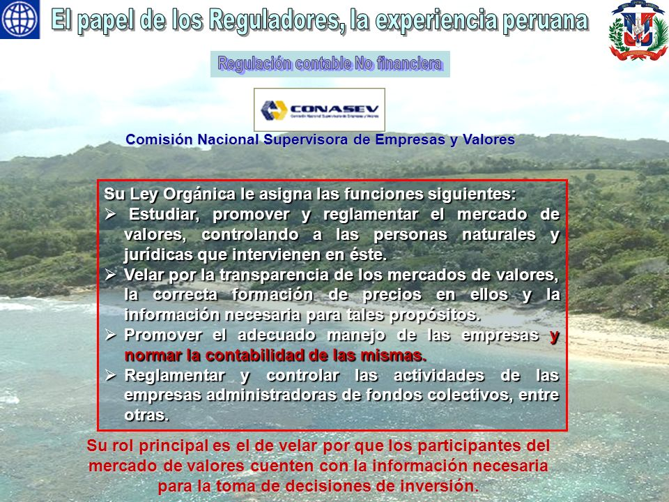 Regulación contable No financiera