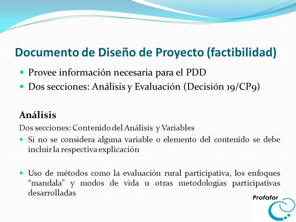 Documento de Diseño de Proyecto (factibilidad)