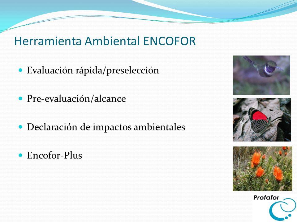 Herramienta Ambiental ENCOFOR