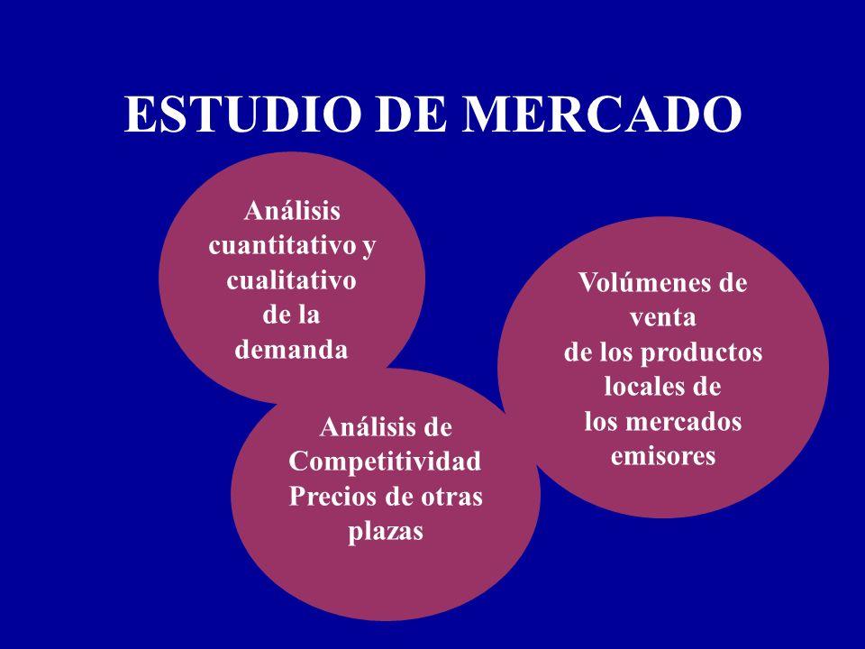 ESTUDIO DE MERCADO Análisis cuantitativo y cualitativo de la demanda