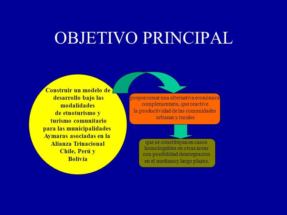 para las municipalidades Aymaras asociadas en la