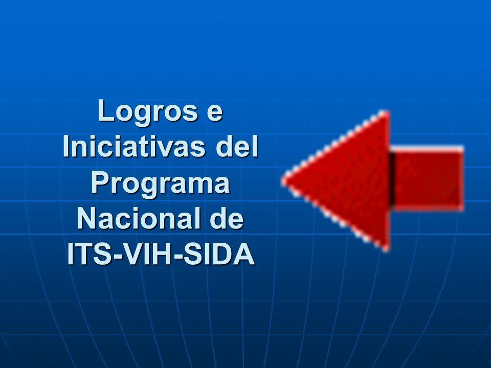 Logros e Iniciativas del Programa Nacional de ITS-VIH-SIDA