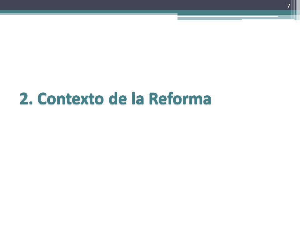 2. Contexto de la Reforma