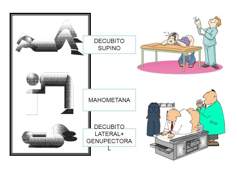 DECUBITO LATERAL+ GENUPECTORAL