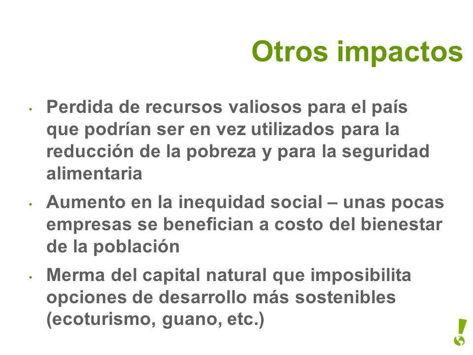Otros impactos