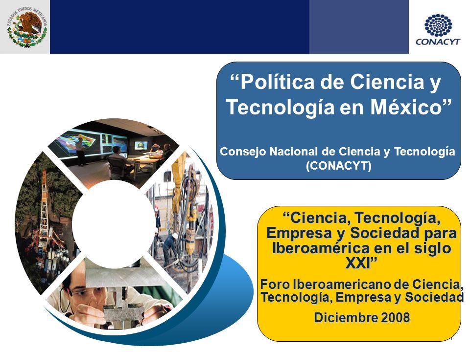 Política de Ciencia y Tecnología en México