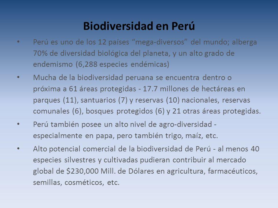 Biodiversidad en Perú