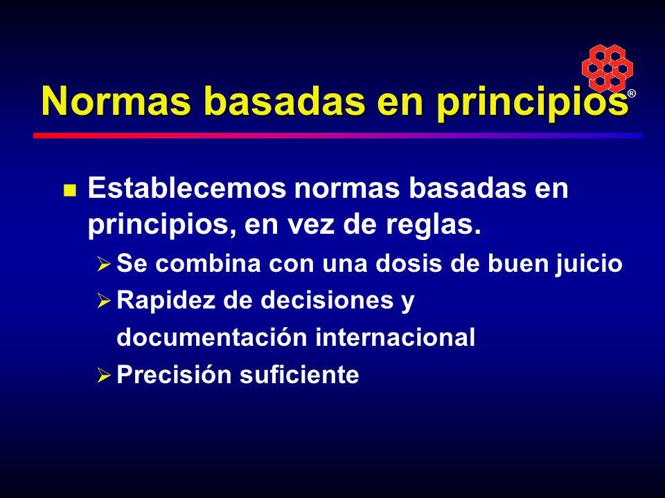 Normas basadas en principios