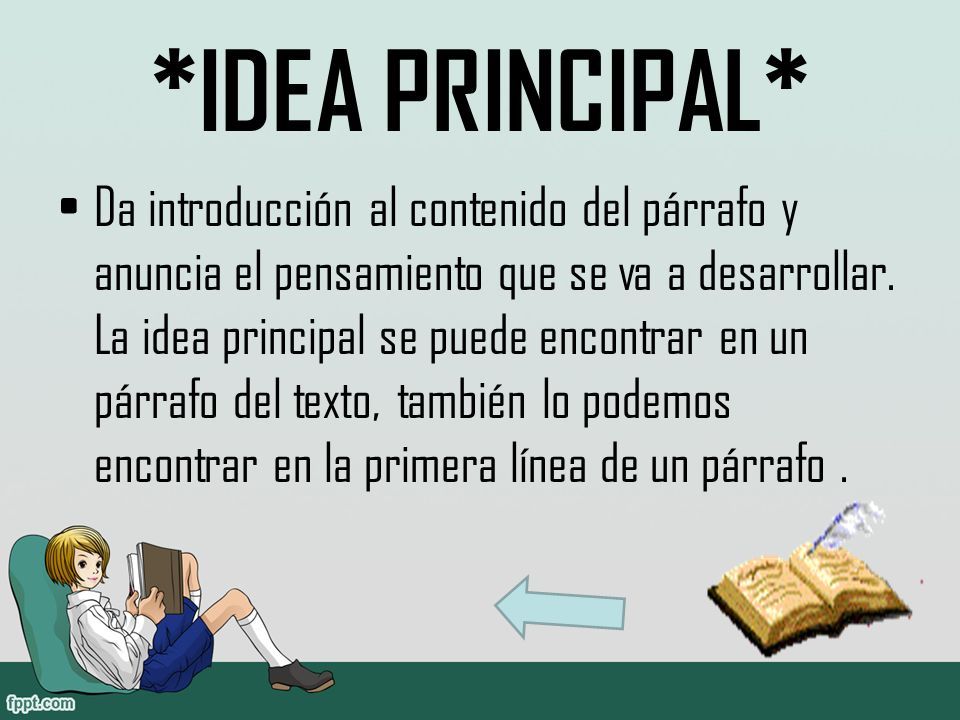 *IDEA PRINCIPAL*