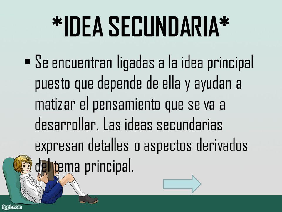 *IDEA SECUNDARIA*