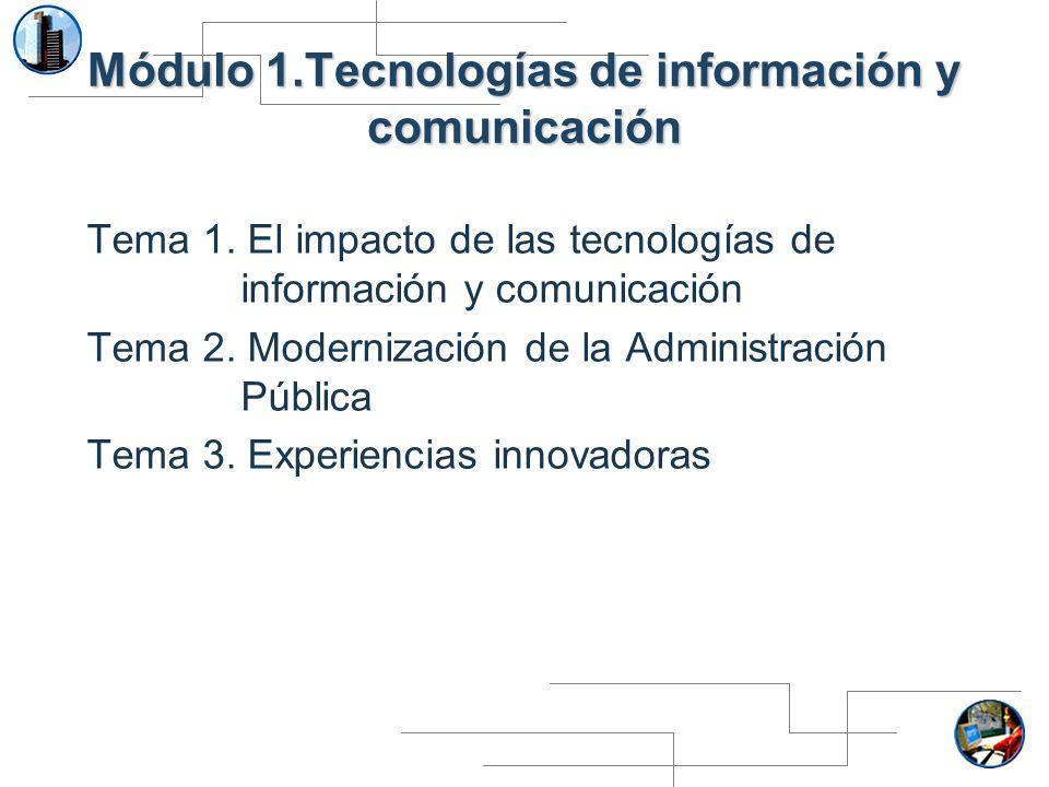 Módulo 1.Tecnologías de información y comunicación