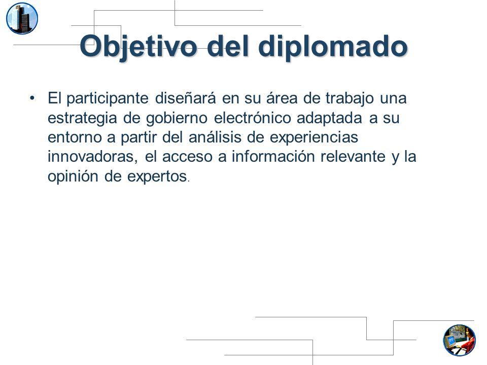 Objetivo del diplomado