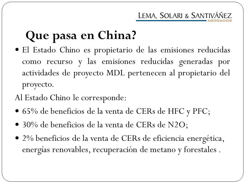 Que pasa en China
