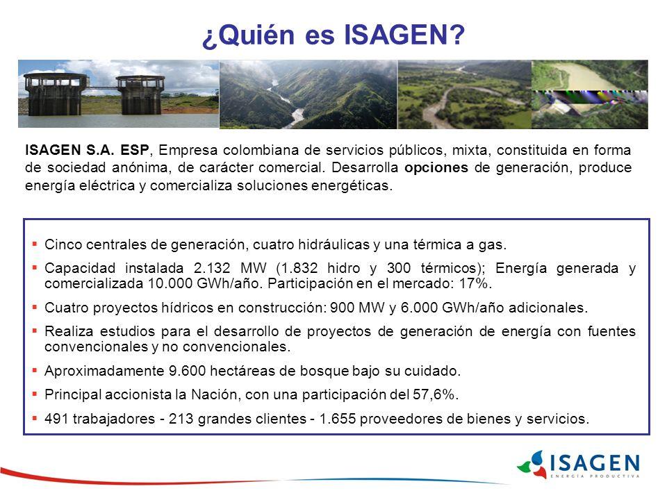 ¿Quién es ISAGEN