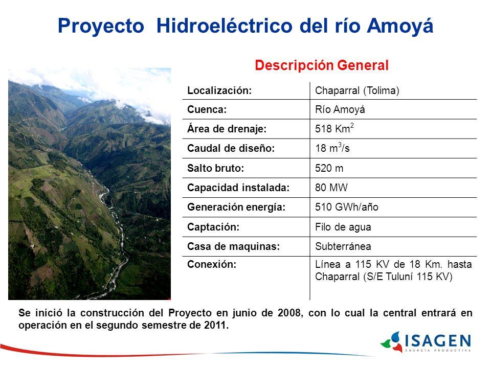 Proyecto Hidroeléctrico del río Amoyá