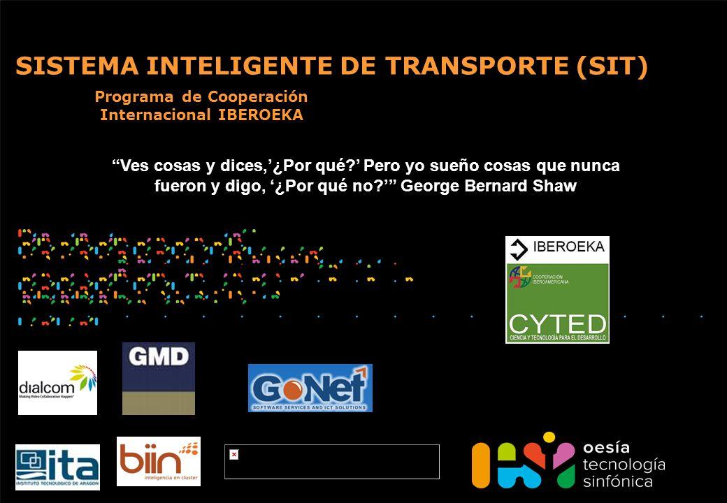 SISTEMA INTELIGENTE DE TRANSPORTE (SIT)