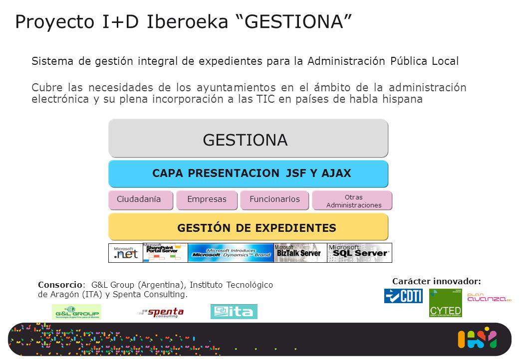 Proyecto I+D Iberoeka GESTIONA