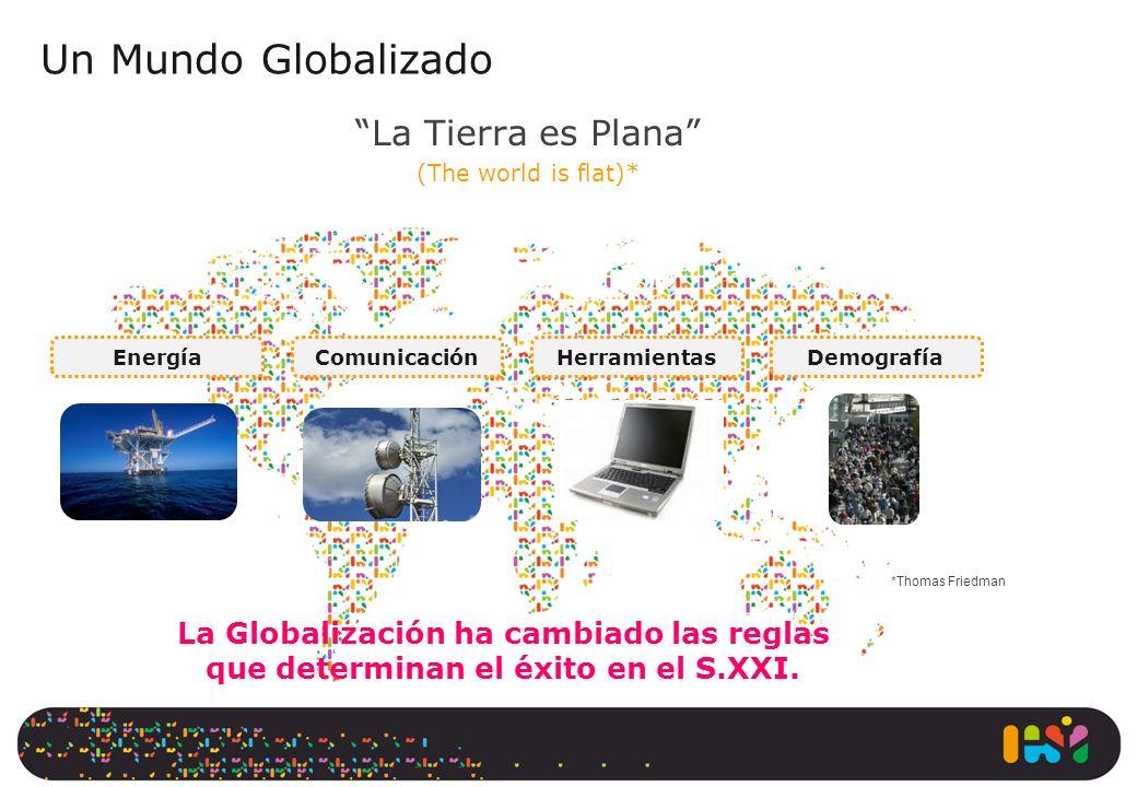 Un Mundo Globalizado La Tierra es Plana