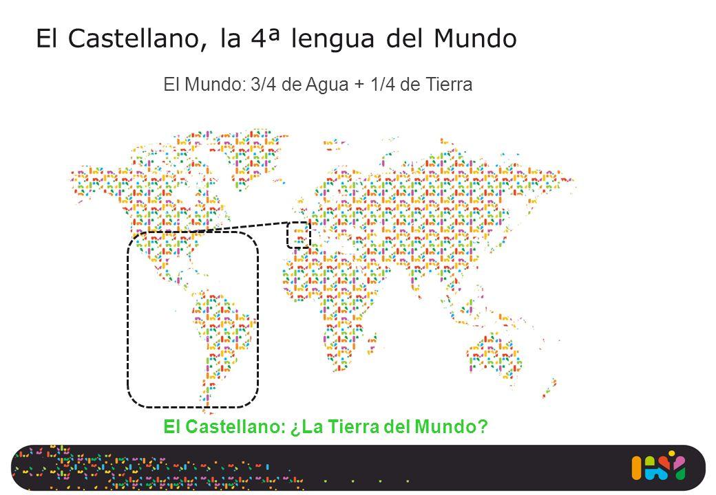 El Castellano, la 4ª lengua del Mundo