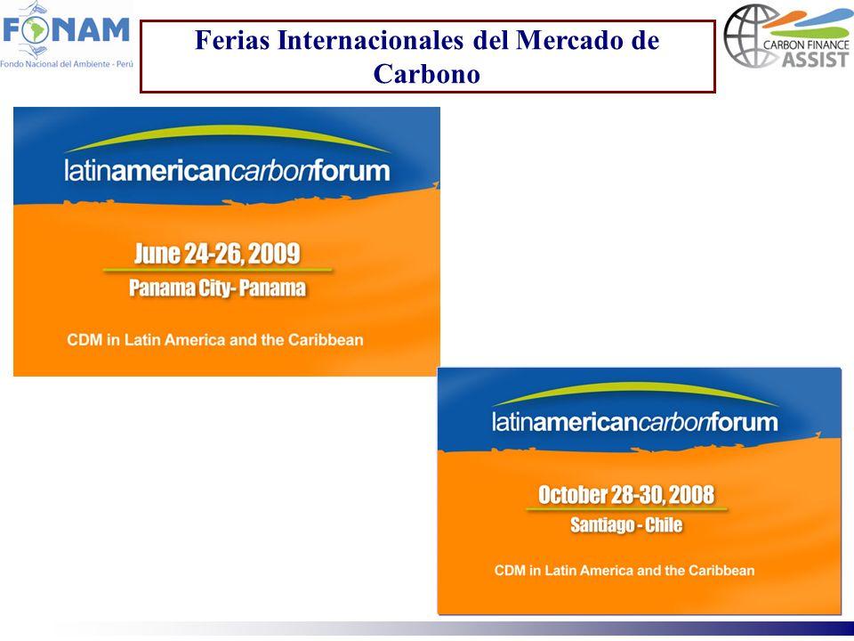 Ferias Internacionales del Mercado de Carbono
