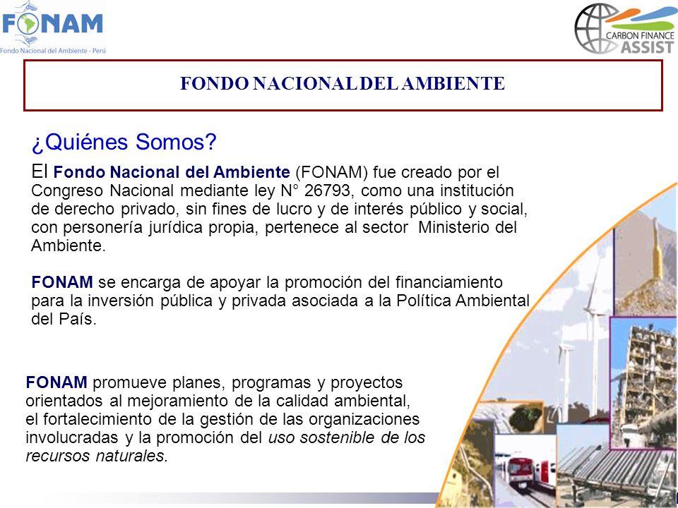 FONDO NACIONAL DEL AMBIENTE