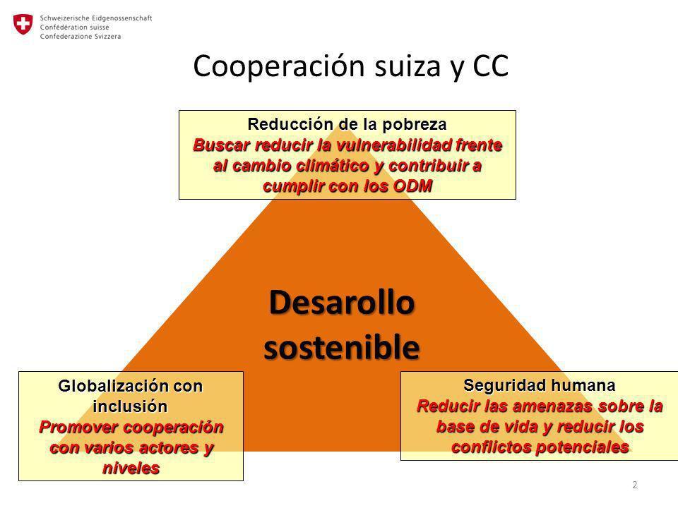 Promover cooperación con varios actores y niveles